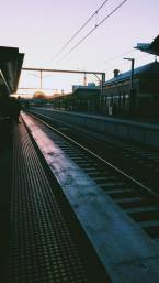 Footscray Train Station